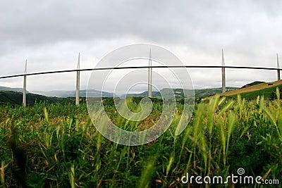 Millau Viaduct Editorial Image
