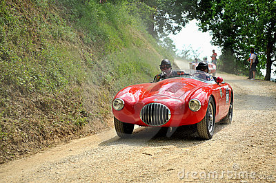 Mille miglia 2009, OSCA MT4-2AD Editorial Stock Image