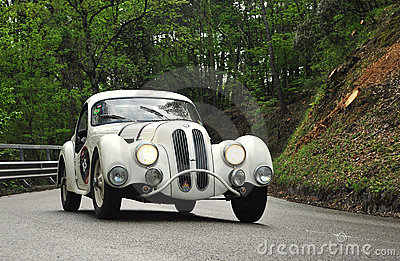 Mille Miglia 2010 Race Editorial Stock Image