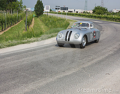 Mille Miglia 2011 Editorial Photography