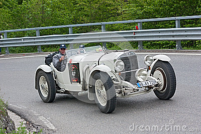 Mille Miglia 2012 Editorial Stock Photo