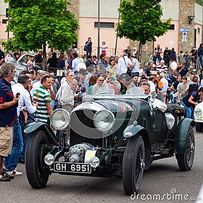 Free Mille Miglia Race  Stock Photo - 150692230