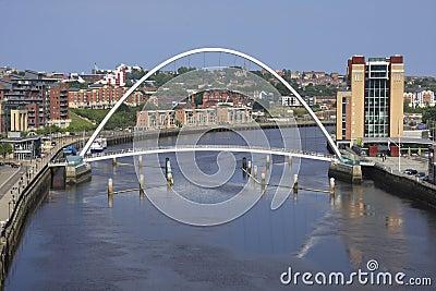 Millennium Bridge & Byker Wall