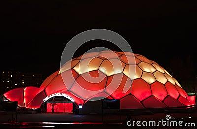 Millennium Dome in Valladolid Editorial Image