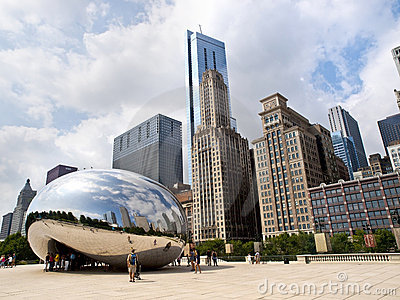 Millennium Park, Chicago Editorial Photo