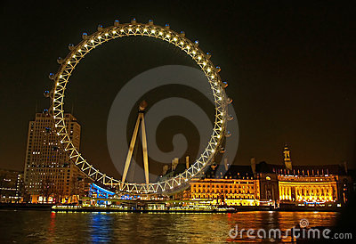 Millennium wheel (London Eye) Editorial Image