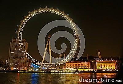Millennium wheel (London Eye) Editorial Image