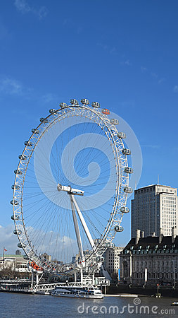 Millennium wheel Editorial Stock Photo