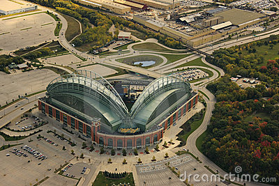 Miller park, milwaukee wisconsin