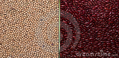 The Millet and red bean