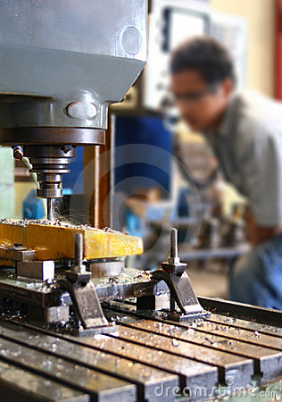 Free Milling Machine Royalty Free Stock Photography - 5808797