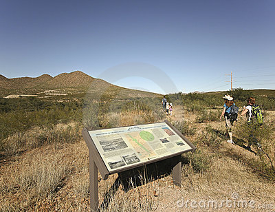 A Millville and Charleston Petroglyph Trail Editorial Stock Image
