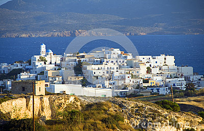 Milos Greek island Cyclades architecture