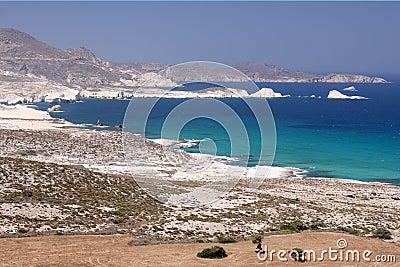 Milos Island Coast