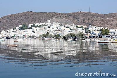 Milos Island Port Town