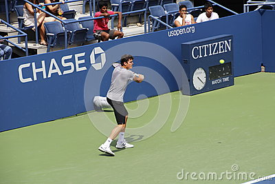 Milos Raonic Foto de Stock Editorial
