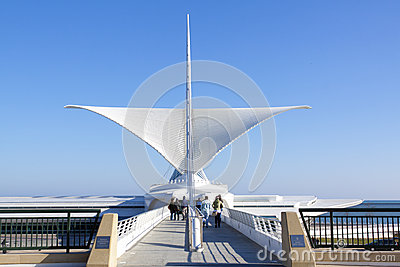 The Milwaukee Art Museum Editorial Photography