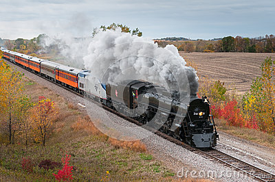 Milwaukee Road #261 - Gennessee Editorial Stock Image
