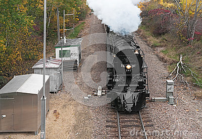 Milwaukee Road #261 - Independence Editorial Stock Image