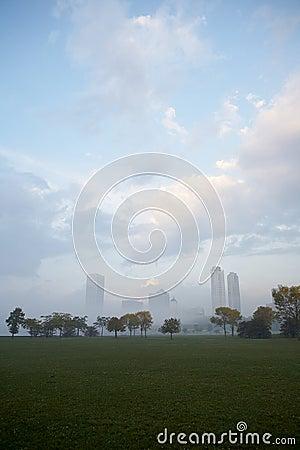 Milwaukee Wisconsin cityscape