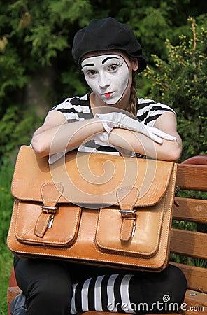 Mim和公文包