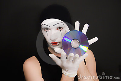 Mime with cd
