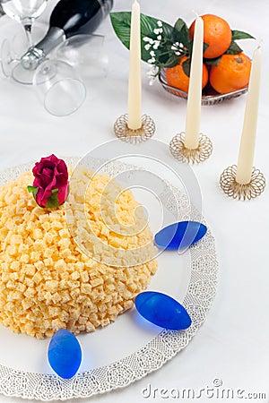 Mimosa Cake