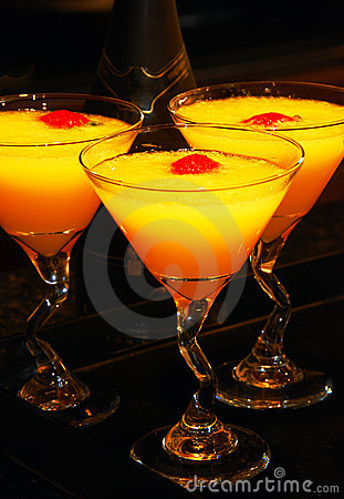 Free Mimosa Cocktail Drinks Royalty Free Stock Image - 5318896