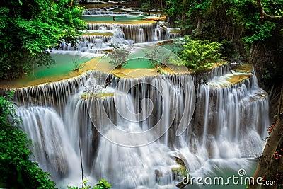 Min waterval van Huay mae Ka