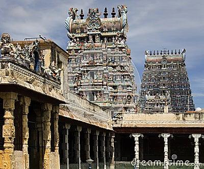 Minakshi Temple - Madurai - Tamil Nadu - India