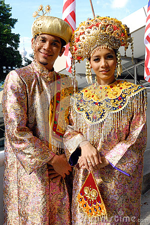 Minangkabau people Editorial Stock Photo
