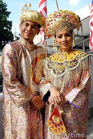 Minangkabau people Editorial Stock Photo