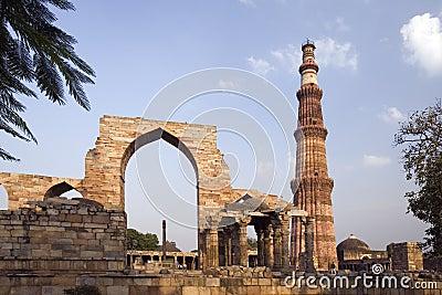 印度minar qutb