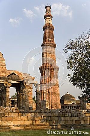 德里印度minar qutb