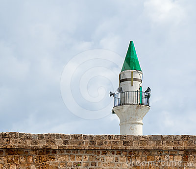 Minaret in Acre