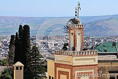 Minaret in Fes