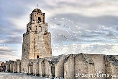 Minaret of the Great Mosque in Kairouan
