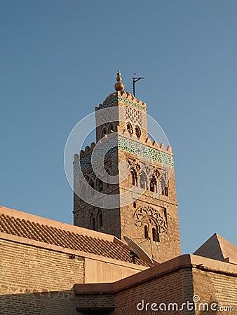 Minaret of the Koutoubia mosque