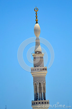 Minaret in Nabawi Mosque
