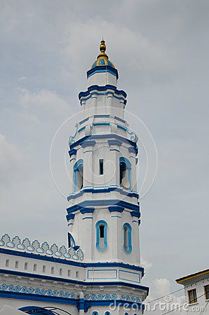 Free Minaret Of Panglima Kinta Mosque In Ipoh Perak, Malaysia Royalty Free Stock Images - 49029939