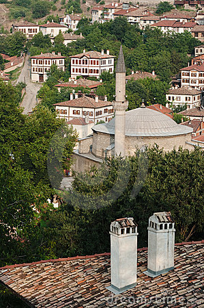 Minaret In Old City Safranbolu, Turkey
