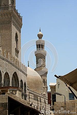 Minaret of old mosque