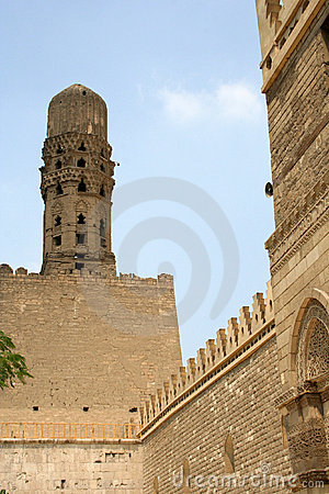 Minaret of old mosque