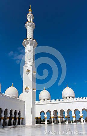 Minaret of Sheikh Zayed Grand Mosque