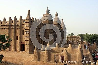 Minaret of a traditional mosk