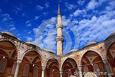 Minaretowy niebo
