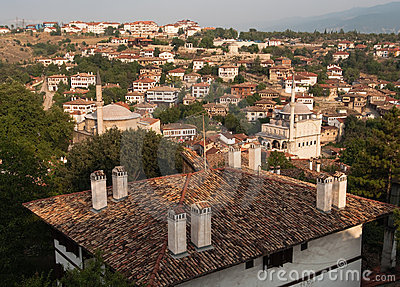 Minarets In Old City Safranbolu, Turkey
