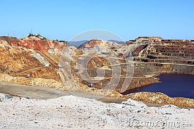 Minas de Riotinto, Nerva. Huelva province, Andalus