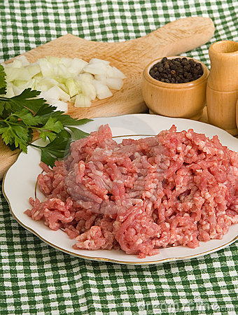 Free Minced Meat Royalty Free Stock Photo - 3759225