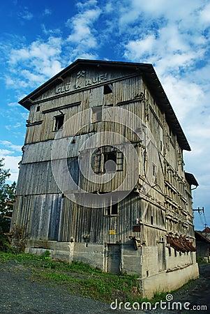 Mine building.